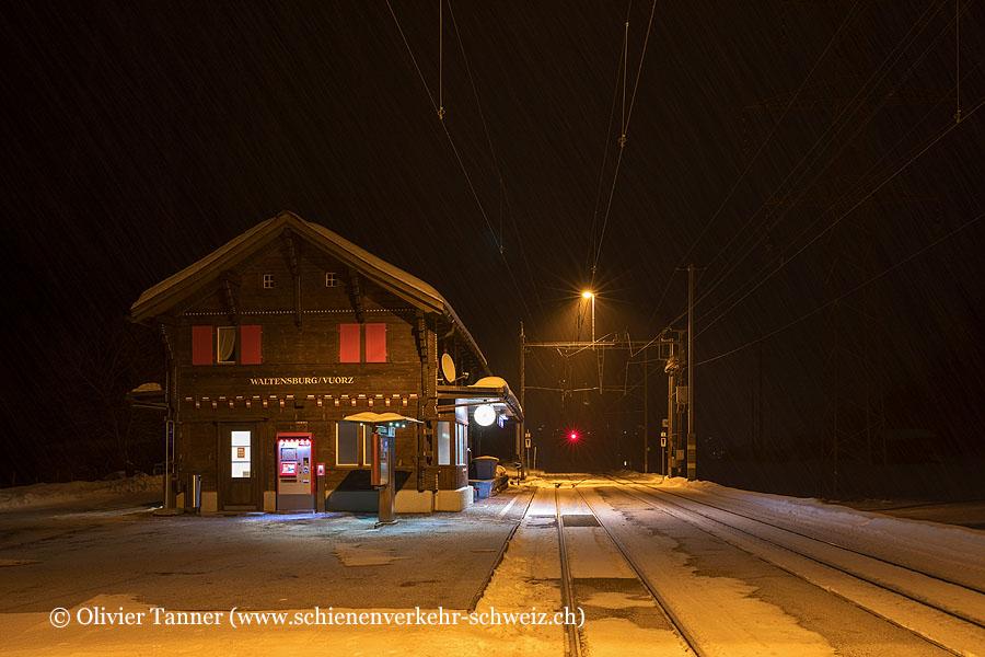 "Bahnhof ""Waltensburg Vuorz"""