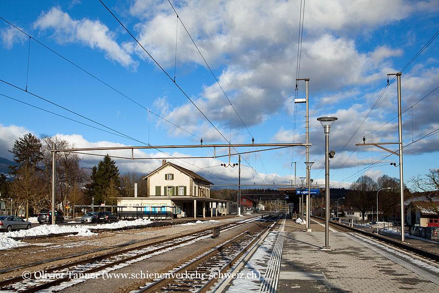 """Bahnhof """"Wangen an der Aare"""""""