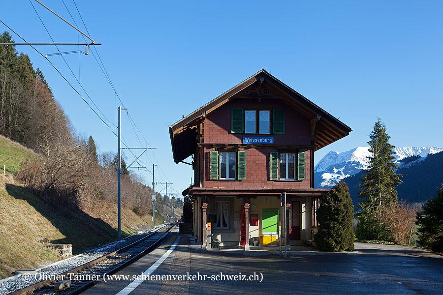 """Bahnhof """"Weissenburg"""""""