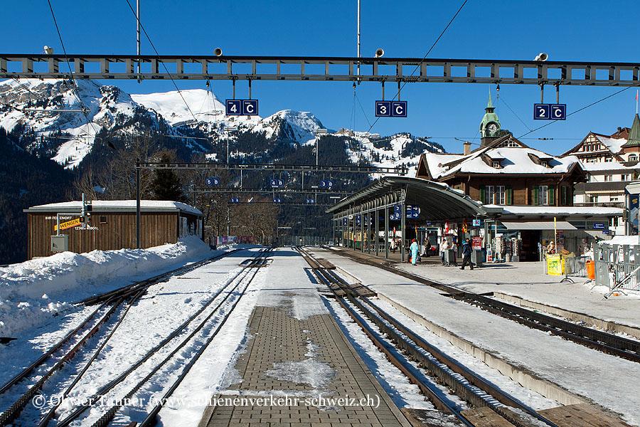 """Bahnhof """"Wengen"""""""