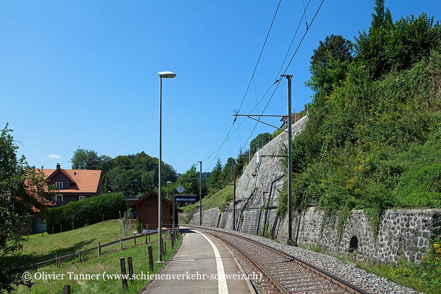 """Bahnhof """"Werthenstein"""""""