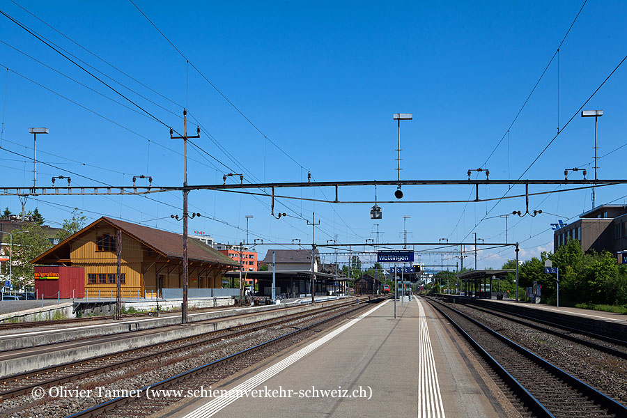 "Bahnhof ""Wettingen"""