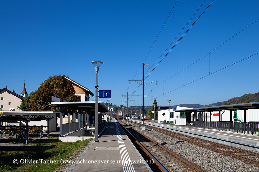 """Bahnhof """"Wila"""""""