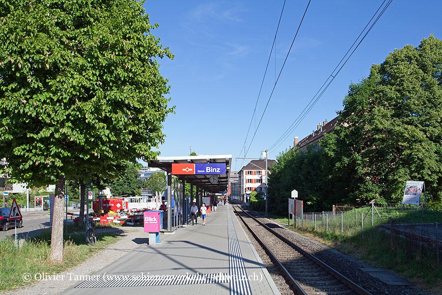 "Bahnhof ""Zürich Binz"""
