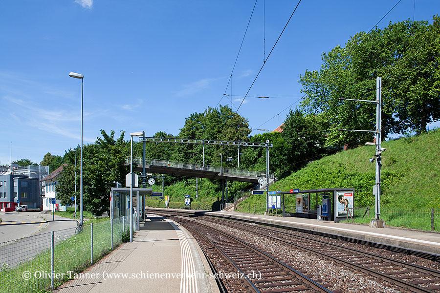 """Bahnhof """"Zürich Brunau"""""""
