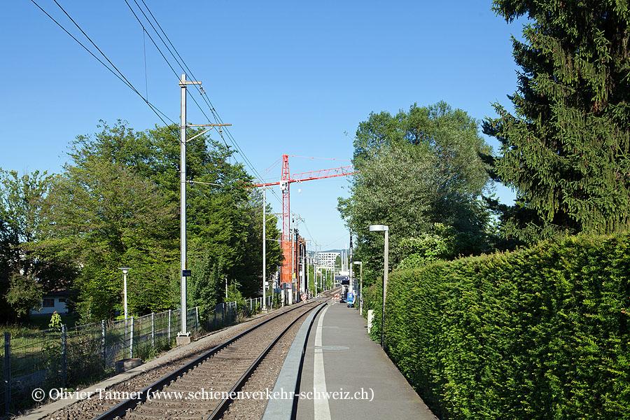 """Bahnhof """"Zürich Friesenberg"""""""