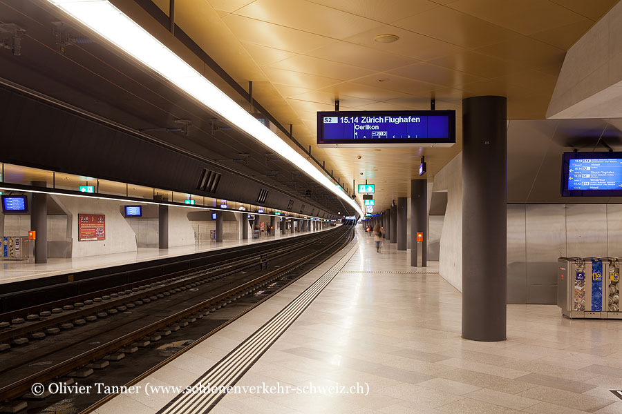 """Bahnhof """"Zürich HB Löwenstrasse"""""""