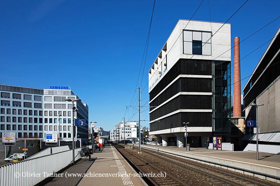"""Bahnhof """"Zürich Saalsporthalle"""""""