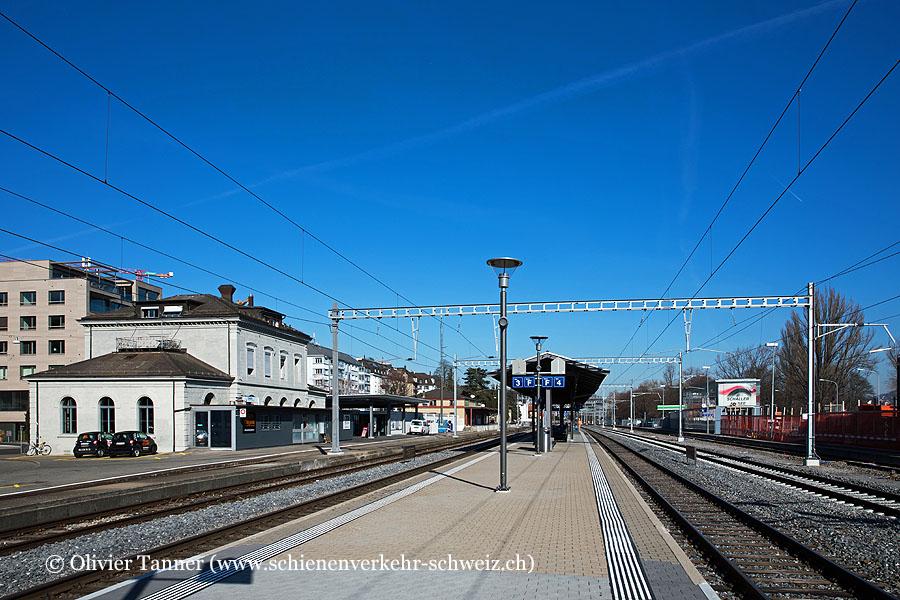 """Bahnhof """"Zürich Wollishofen"""""""