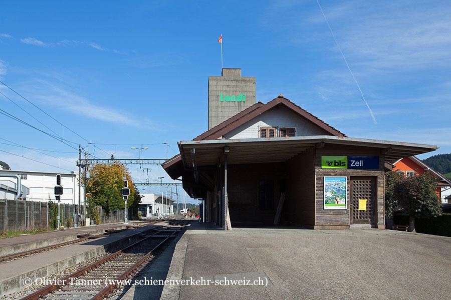 """Bahnhof """"Zell"""""""