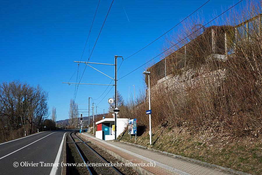 """Bahnhof """"Zufikon Belvédère"""""""