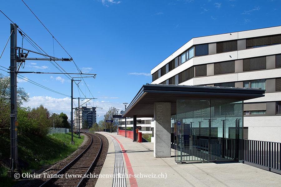 """Bahnhof """"Zug Casino"""""""