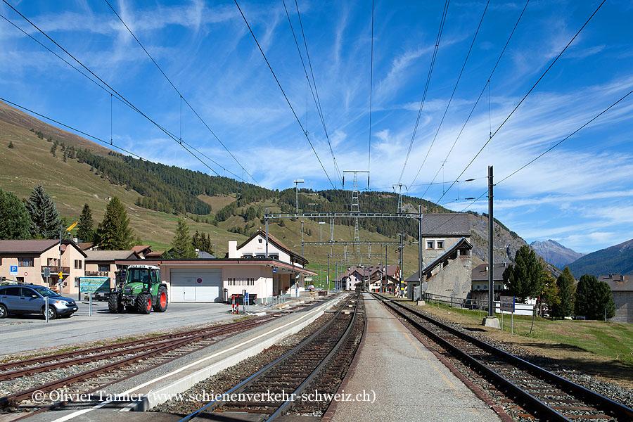 "Bahnhof ""Zuoz"""