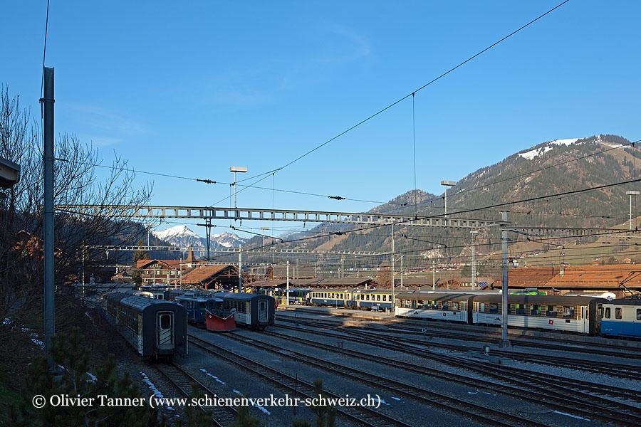 """Bahnhof """"Zweisimmen"""""""
