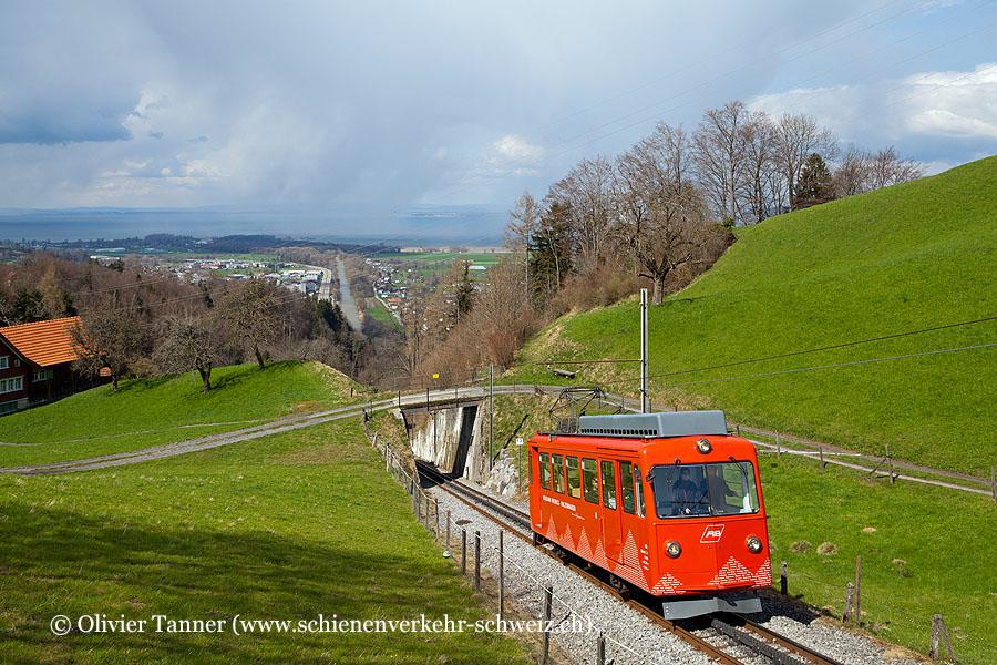 BDeh 1/2 1 als S26 Rheineck – Walzenhausen