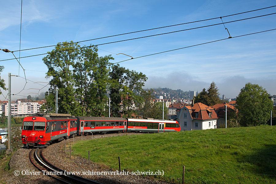BDeh 4/4 12 als S22 St. Gallen – Appenzell