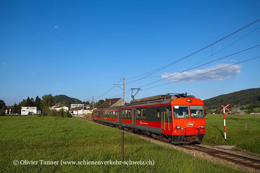 BDeh 4/4 16 als S22 St. Gallen – Appenzell
