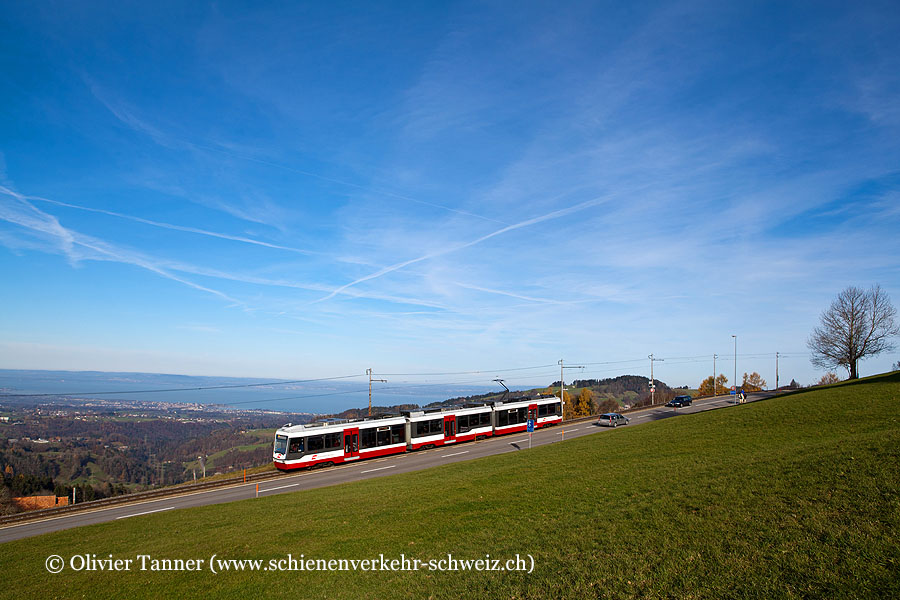 Be 4/8 35 als S21 Trogen – St. Gallen