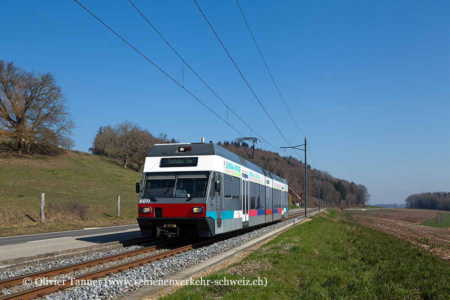 Be 2/6 501 als Regio Biel/Bienne – Ins