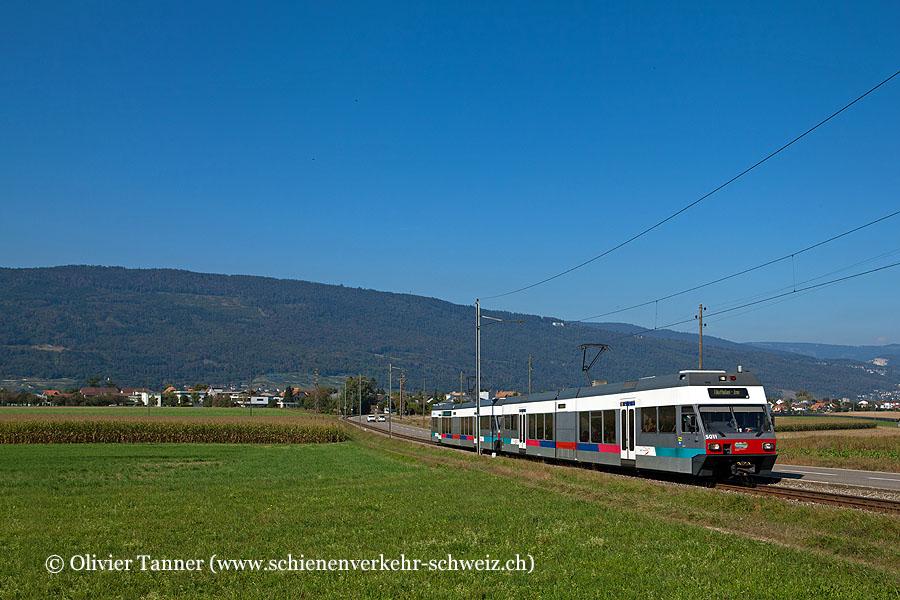 Be 2/6 501 und Be 2/6 504 als Regio Biel/Bienne – Ins