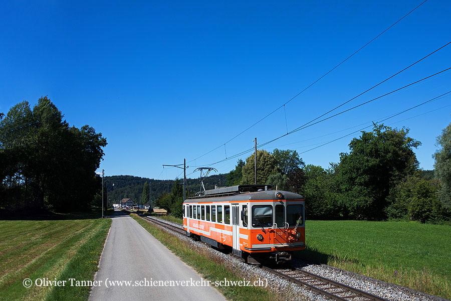 Be 4/4 103 als Regio Langenthal – St. Urban Ziegelei