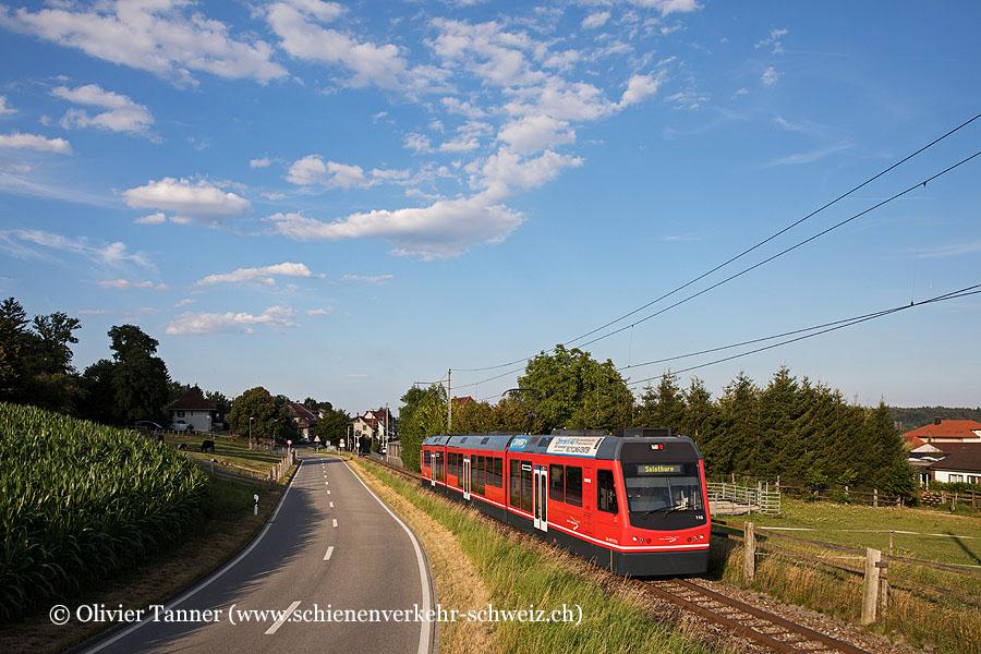 Be 4/8 110 als Regio Wiedlisbach – Solothurn