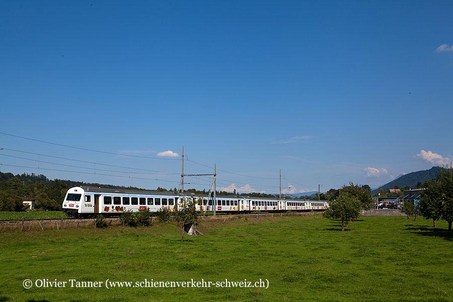 Kamblyzug aus EW III Wagen als RegioExpress Luzern – Bern