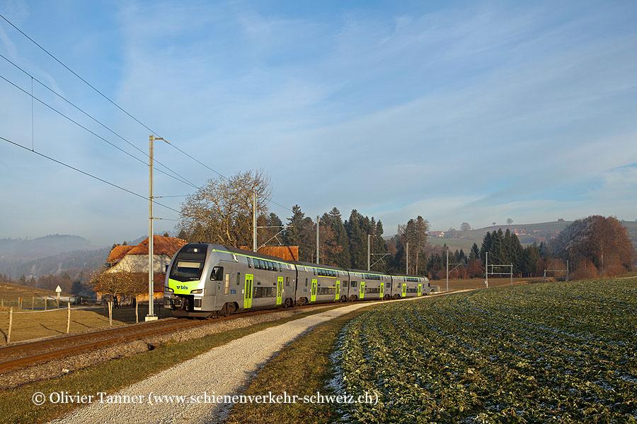 RABe 515 012 als S6 Bern – Schwarzenburg