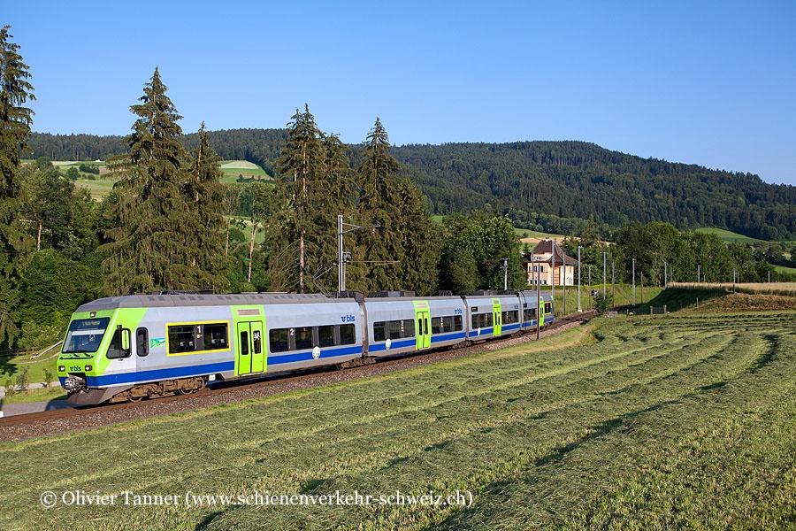 RABe 525 026 als Regionalzug Thun – Hasle-Rüegsau