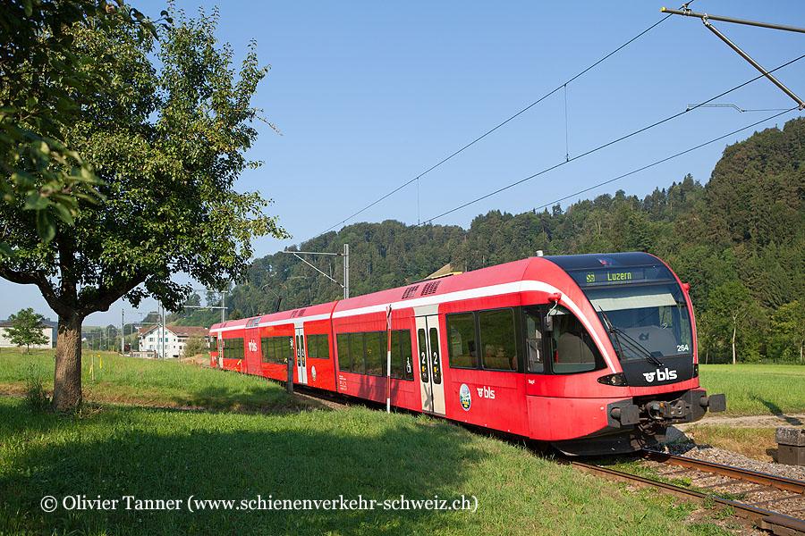 RABe 526 264 als S6 Langenthal – Wolhusen – Luzern
