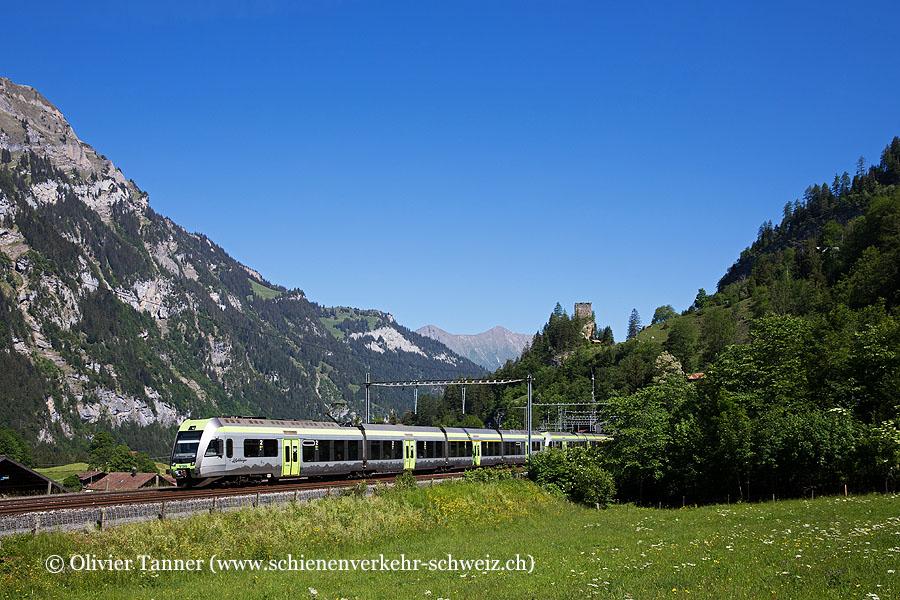 RABe 535 106 und RABe 535 123 als RegioExpress Brig – Spiez – Bern