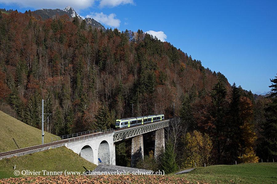 RABe 535 106 als Regio Bern – Spiez – Zweisimmen