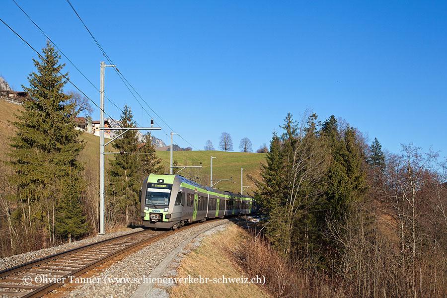 RABe 535 107 als RegioExpress Bern – Spiez – Zweisimmen