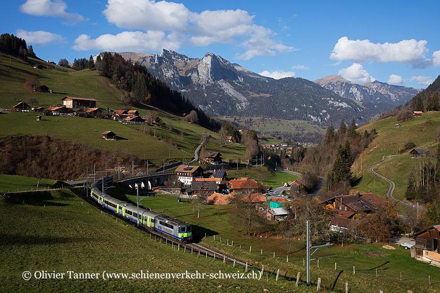 Re 420 501 mit EW III Pendelzug mit RegioExpress Interlaken Ost – Zweisimmen
