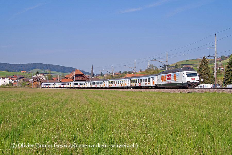 Kamblyzug mit Re 465 004 als RegioExpress Bern – Luzern