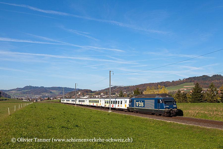 Kamblyzug mit Re 465 006 mit RegioExpress Bern – Luzern