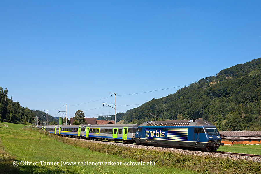 Re 465 007 als RegioExpress Bern – Luzern
