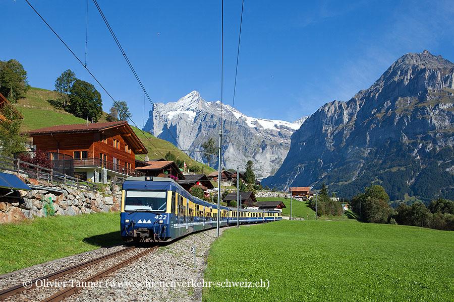 Regio Grindelwald – Zweilütschinen – Interlaken mit ABeh 4/4' 310