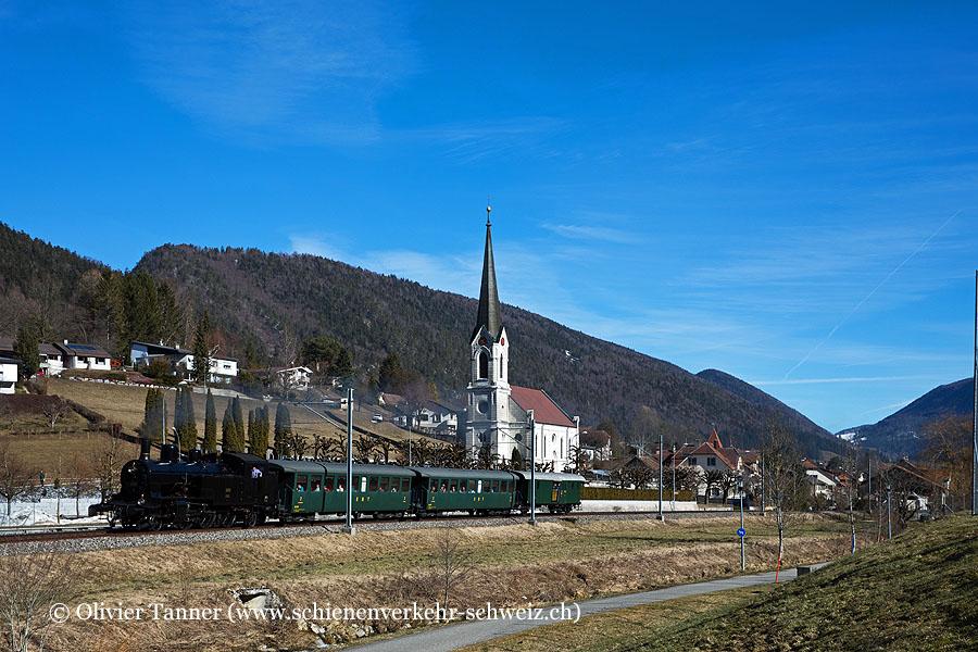 Eb 3/5 5810 anlässlich der Rundfahrt in den Jura