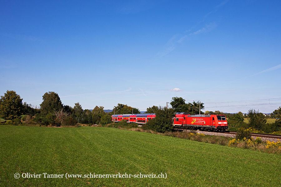 Br 146 225 mit RE Karlsruhe Hbf – Offenburg – Singen (Hohentwiel) – Konstanz