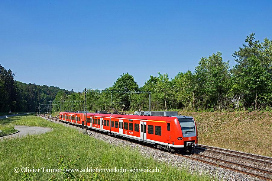 Br 426 012 und Br 426 003 als Regionalbahn Singen (Hohentwiel) – Schaffhausen