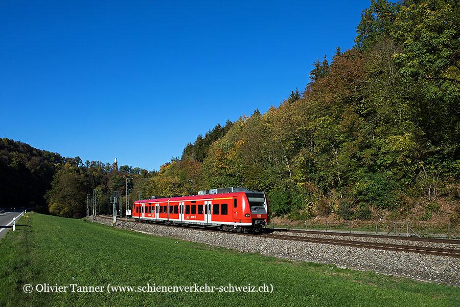 Br 426 012 als Regionalbahn Singen (Hohentwiel) – Schaffhausen