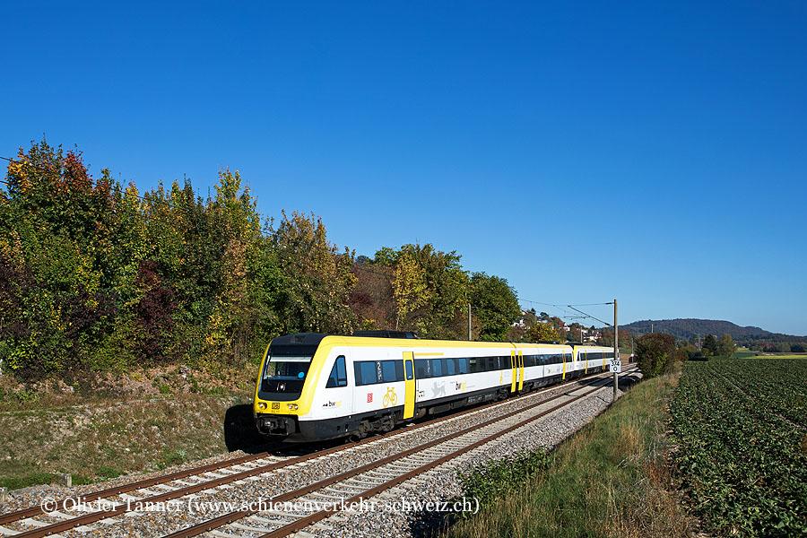 Br 426 612 111 und Br 426 612 109 als InterRegio-Express Singen (Hohentwiel) – Schaffhausen – Basel Badischer Bahnhof