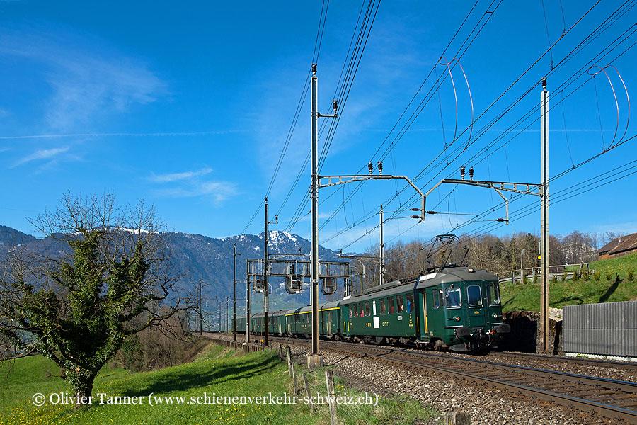 RBe 4/4 1405 auf grosser Fahrt nach Luino