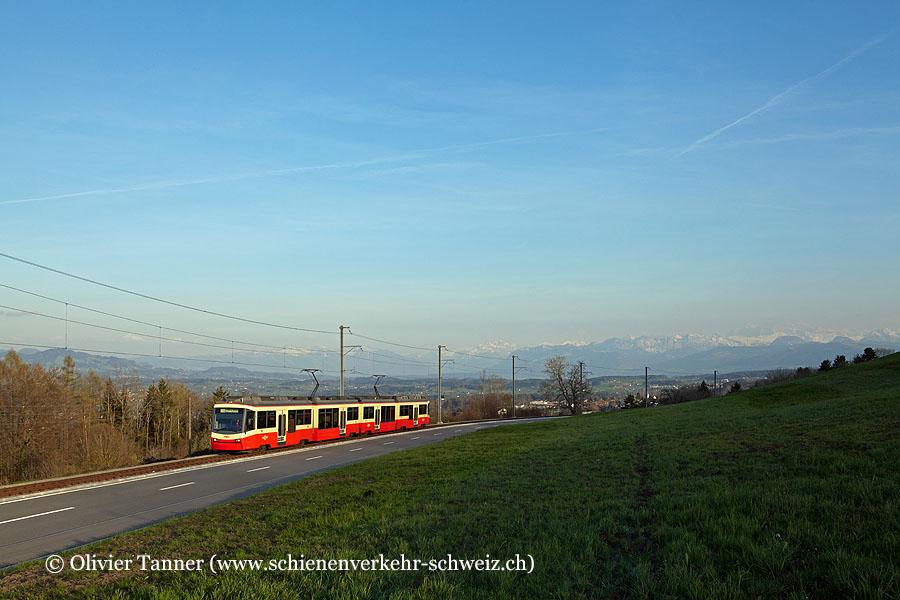 Be 4/6 67 als S18 Zürich Stadelhofen – Esslingen