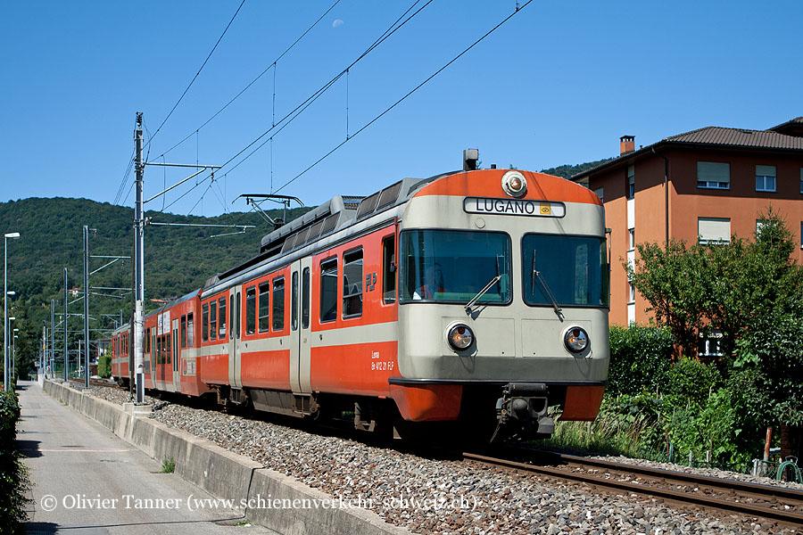 Be 4/12 21 als S60 Ponte Tresa – Lugano