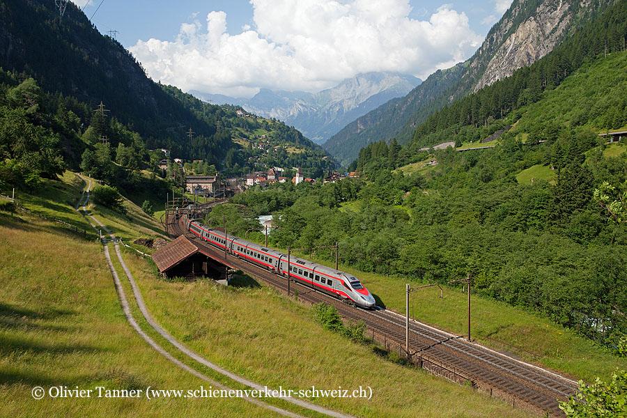 ETR 610 12 als EC Basel – Luzern – Milano