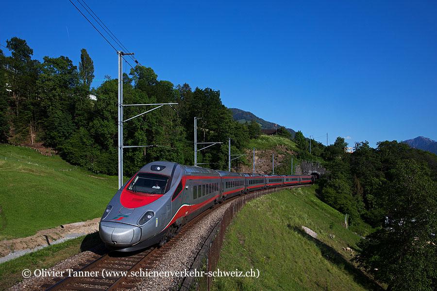 ETR 610 12 und ETR 610 2 als EC Milano – Zürich
