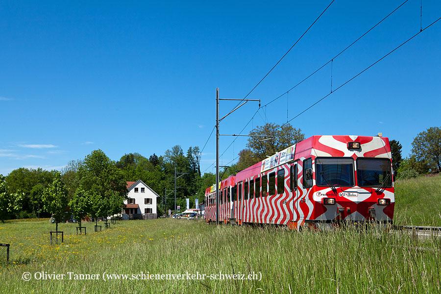 Regionalzug nach Wil mit Be 4/4 17