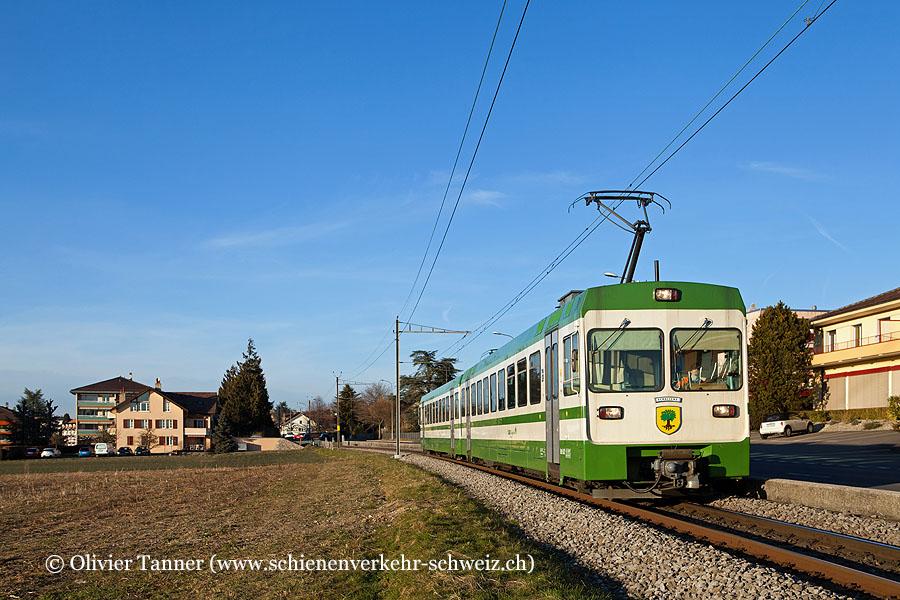 Be 4/8 32 als Regio Cheseaux – Lausanne-Flon